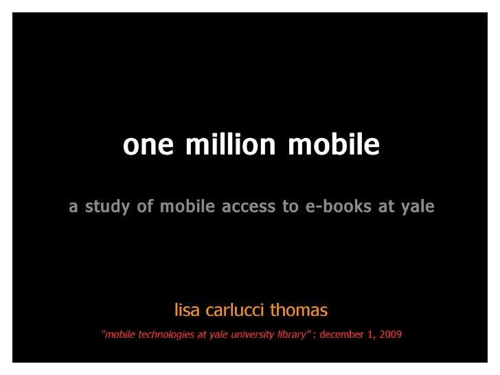One Million Mobile