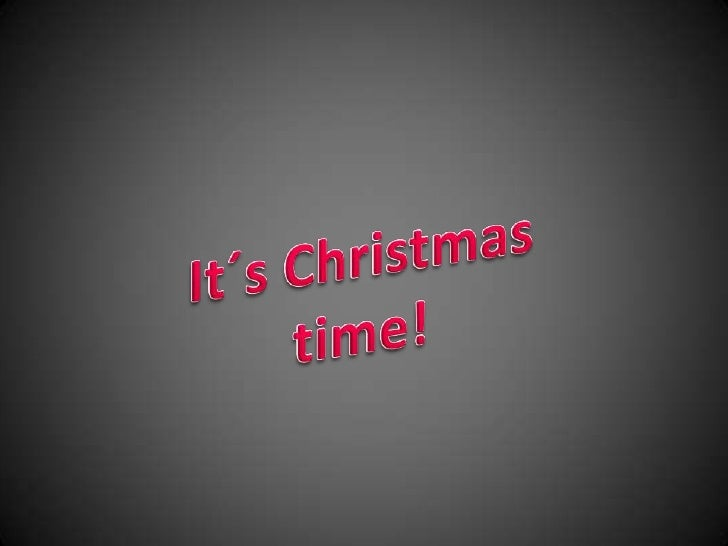 It´s Christmas time!<br />