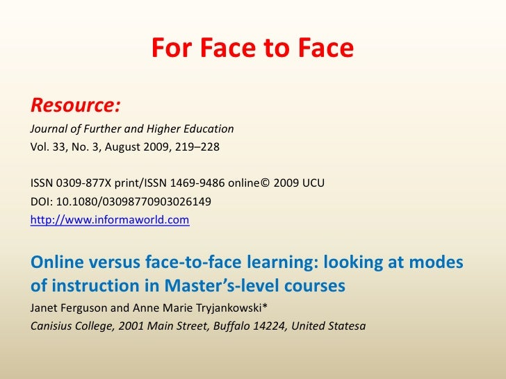 an instructional comparison between face to face and A blended and face-to-face comparison of teacher professional development:  practices between blended and face-to  4 comparison of instructional belief pre.