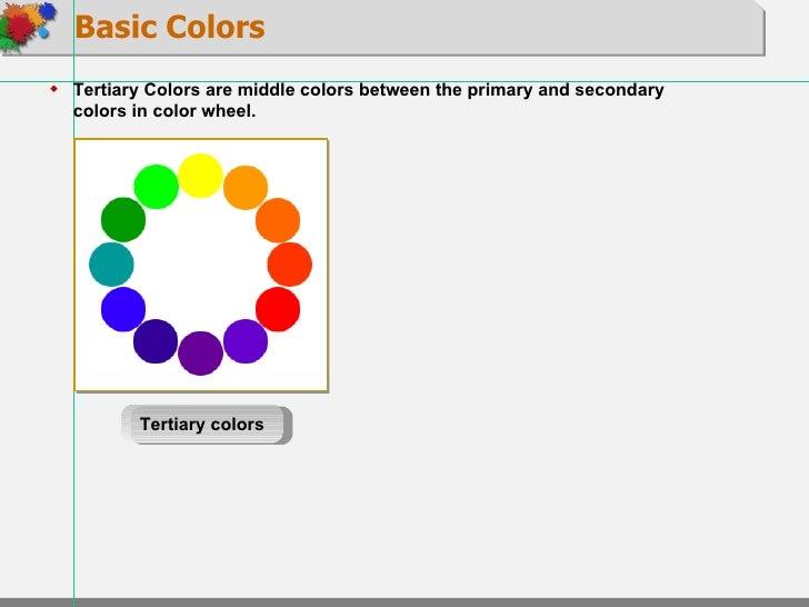 10 Basic Colors about color