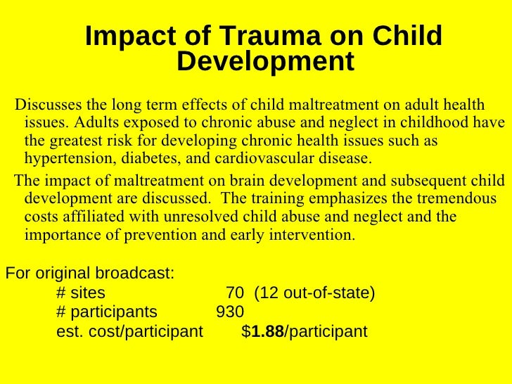 affects of child abuse Of child abuse and neglect factsheet july 2013 use your smartphone to the immediate emotional effects of abuse and neglect—isolation, fear, and an.