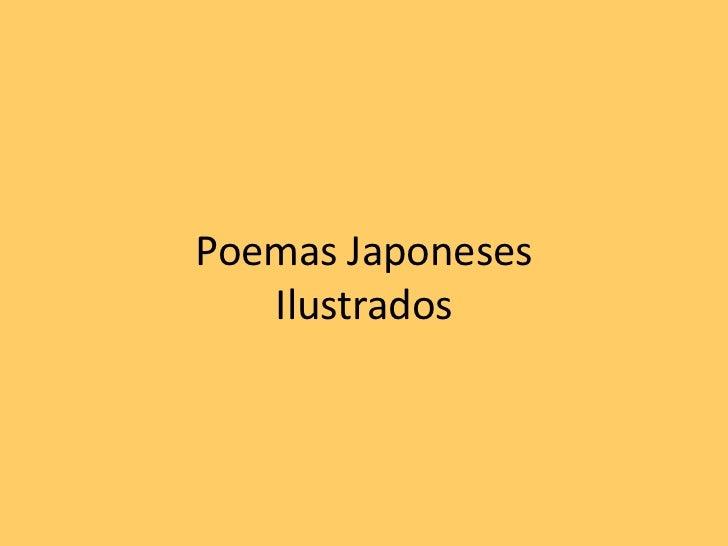 Poemas JaponesesIlustrados<br />
