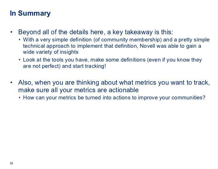 In Summary <ul><li>Beyond all of the details here, a key takeaway is this: </li></ul><ul><ul><ul><ul><li>With a very simpl...