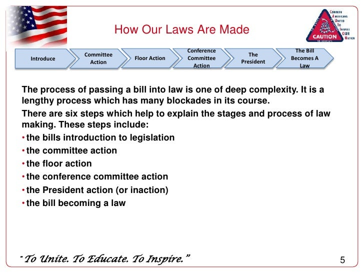how state laws are made Kids in the house  how laws are made  all laws in the united states begin as bills before a bill can become a law, it must be approved by the us house of .