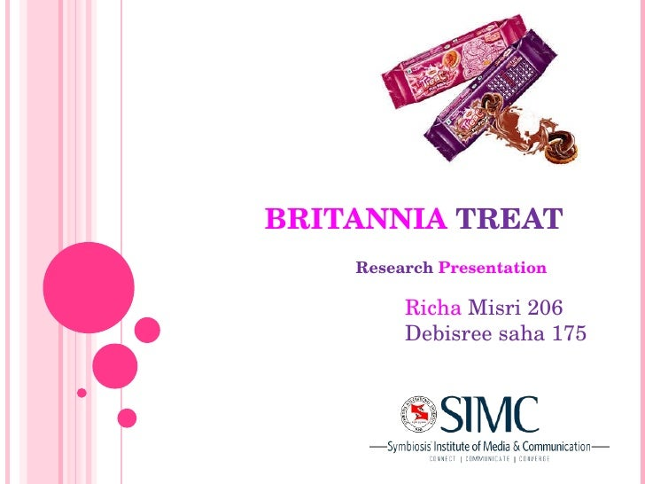 BRITANNIA   TREAT Research   Presentation Richa   Misri 206 Debisree saha 175