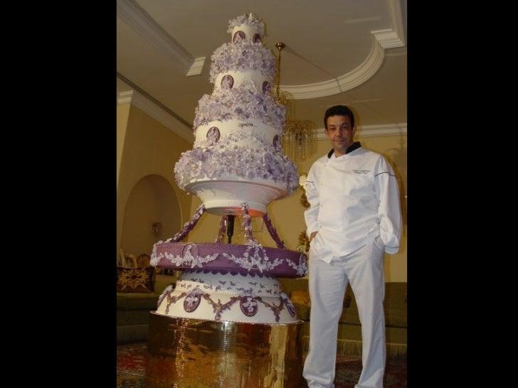 Os mais belos bolos de casamento Slide 2