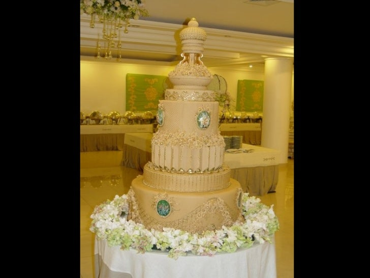 Os mais belos bolos de casamento Slide 3