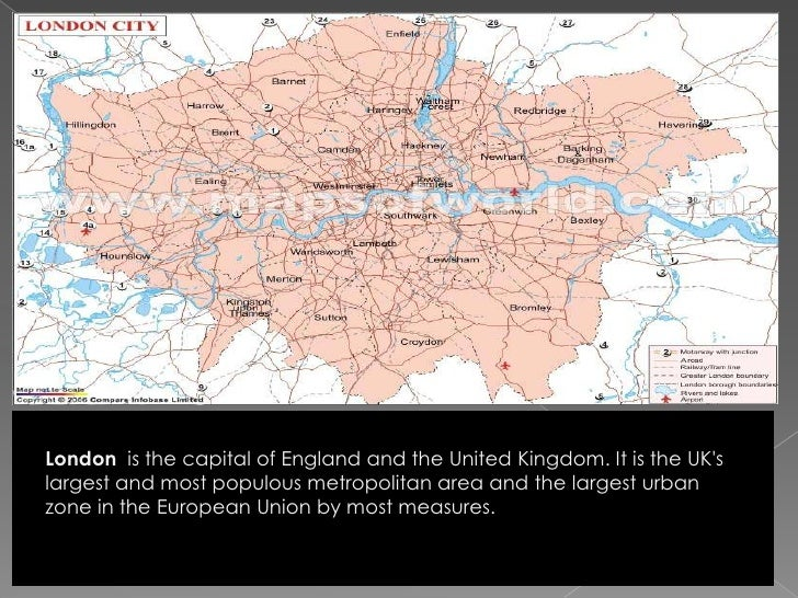 London  is the capital of England and the United Kingdom. It is the UK's largest and most populous metropolitan area and t...
