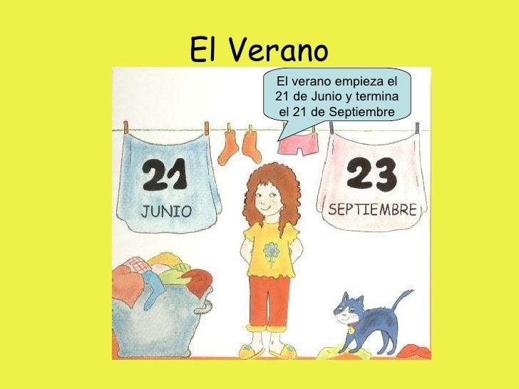 Las estaciones del a o infantil for En 4 meses termina el ano