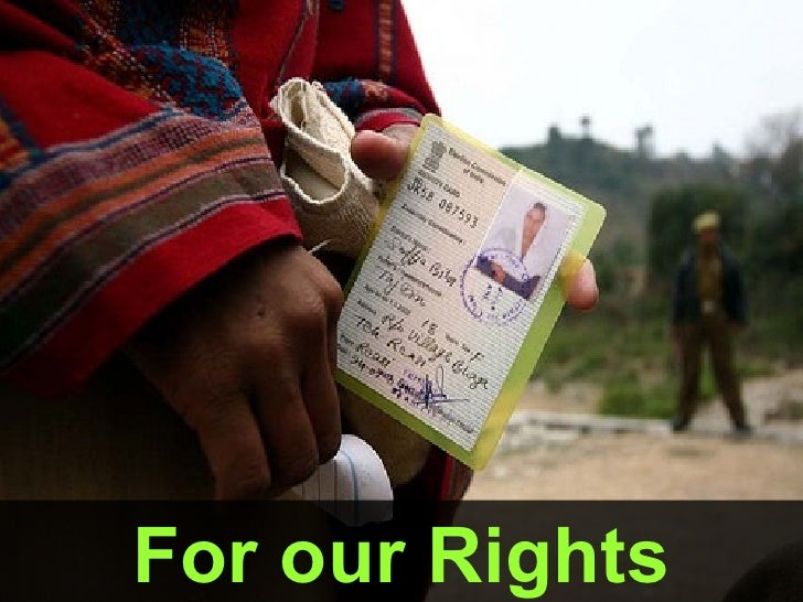 For our Rights