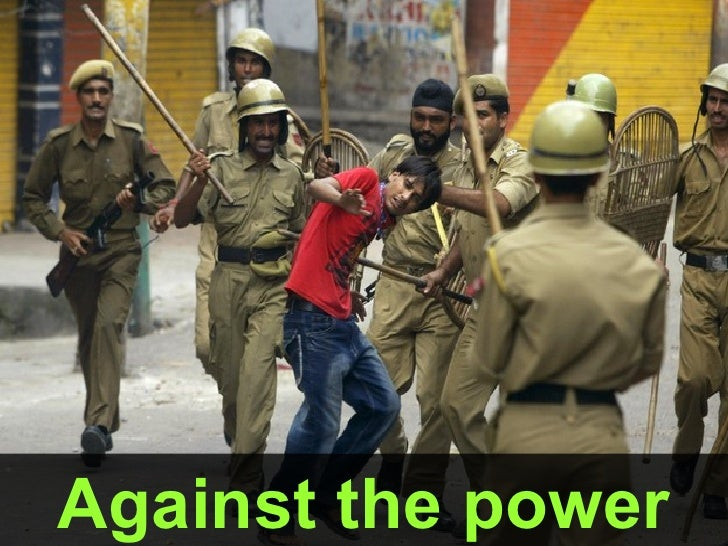 Against the power