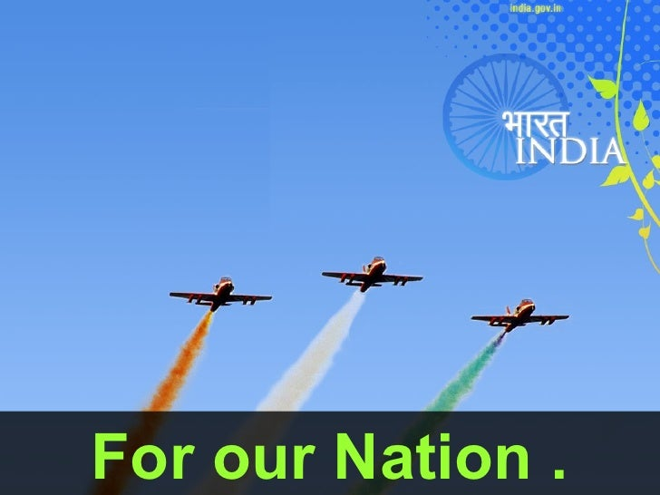 For our Nation .