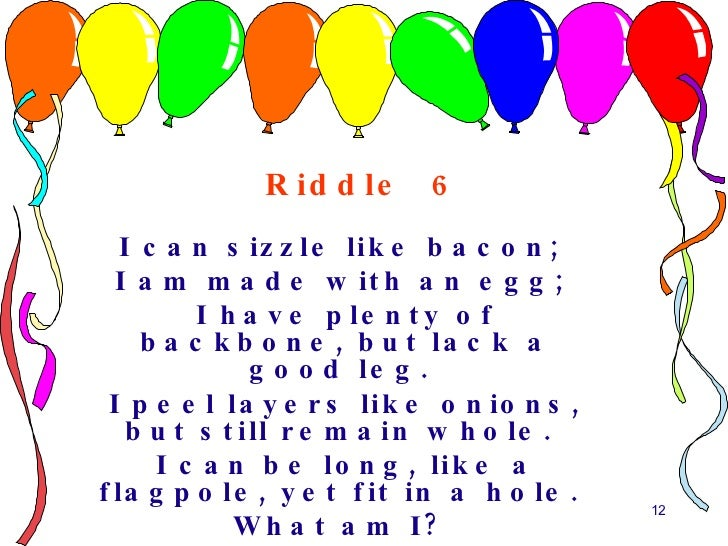 10 tricky riddles for the young riddle sciox Choice Image