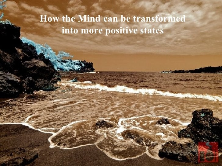 How the Mind can be transformed into more positive states