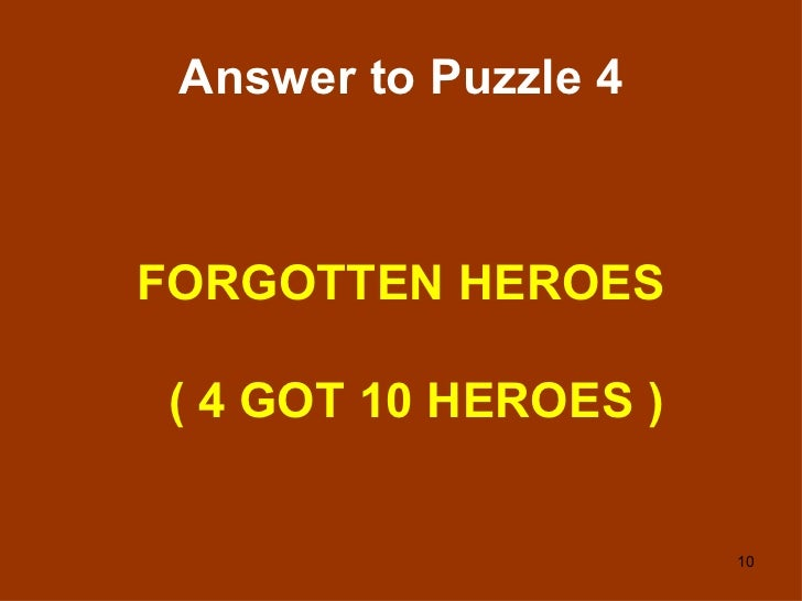 15 Rebus Puzzles To Sharpen The Mind – Rebus Puzzle Worksheets