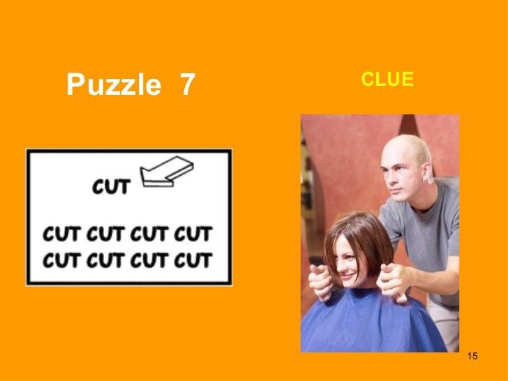 Puzzle  7 CLUE