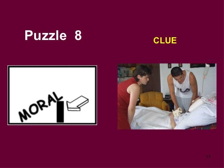 Puzzle  8 CLUE