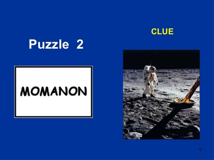 Puzzle  2 CLUE