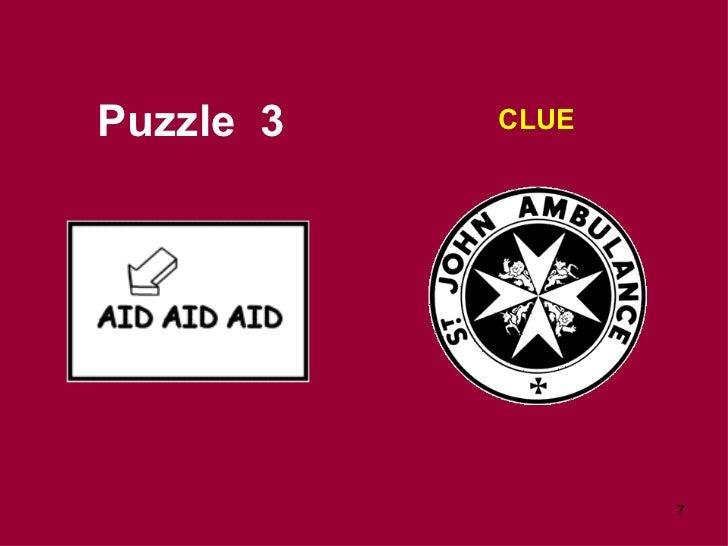 Puzzle  3 CLUE