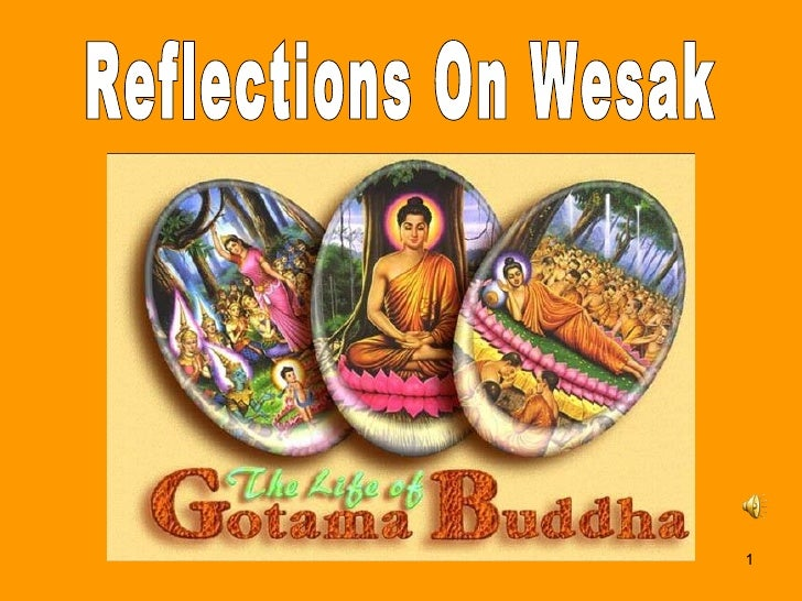 Reflections On Wesak