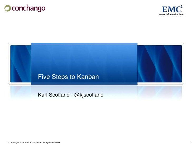 Five Steps to Kanban