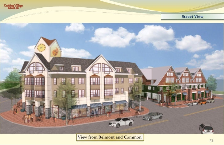 First Cushing Planning Board Hearing Belmont Ma Feb
