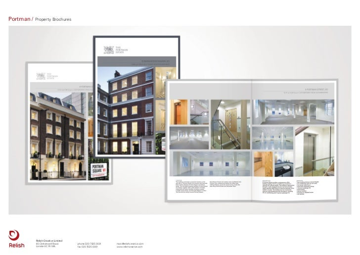 Portman /   Property Brochures            Relish Creative Limited            65 Clerkenwell Road       phone 020 7025 0031...
