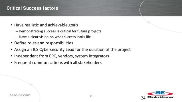 Building Cybersecurity into a Greenfield ICS Project