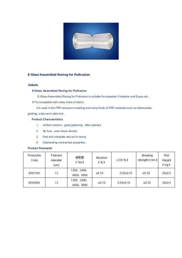 Fiberglass Raw Material Version 3 0