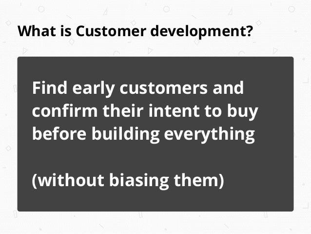 Mom Test - Customer Development - 30m Slide 3