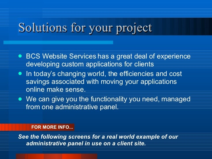 Custom Web Design Projects Overview
