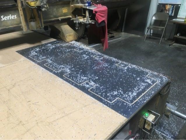LMCurbs Custom Snow Diverter in Production # 1