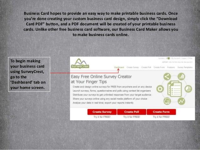 How Do I Create Custom, Printable Business Cards?
