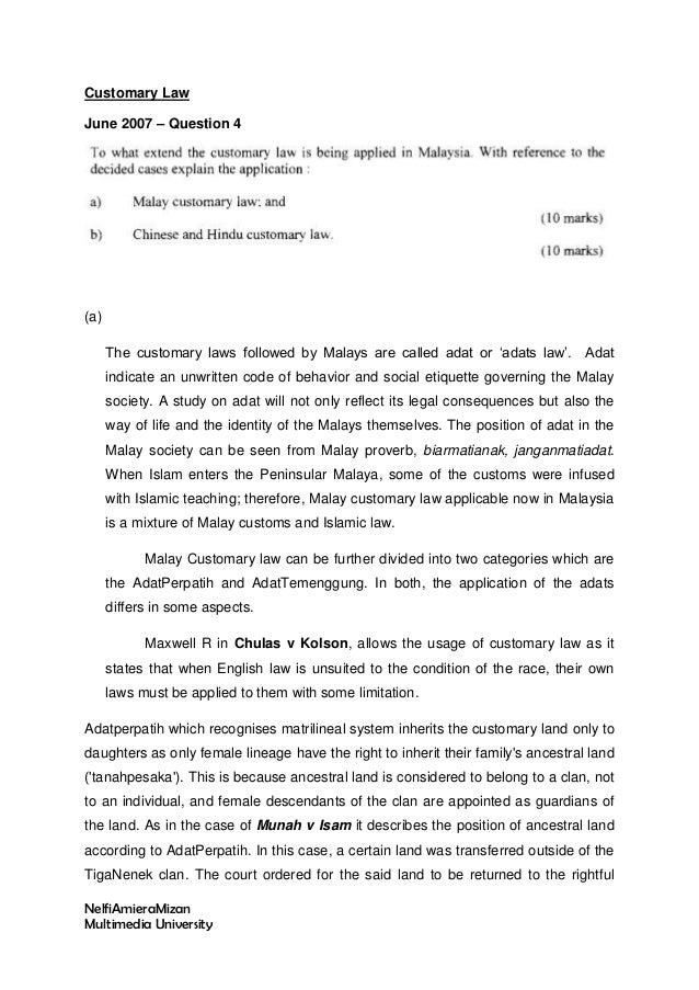 customary divorce in hindu law
