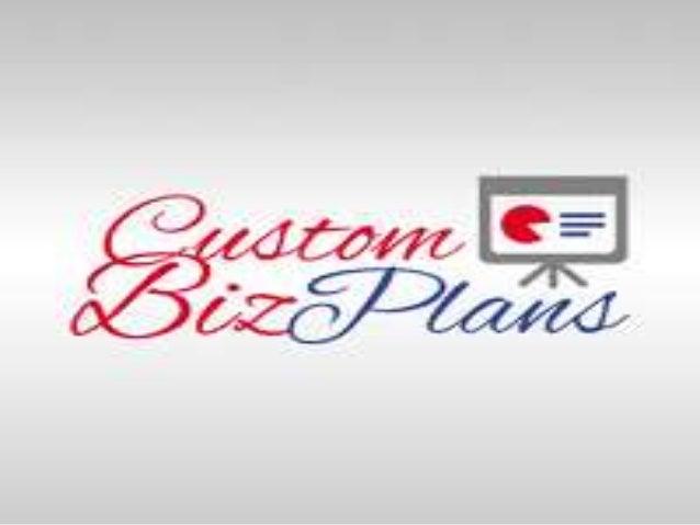 custom business plan writing services uk