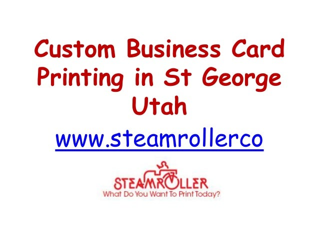 Custom business card printing in st george utah www for Unique business card printing