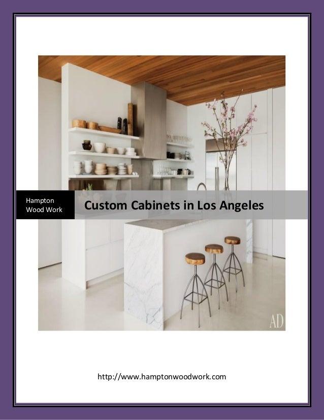 Exceptionnel Http://www.hamptonwoodwork.com Hampton Wood Work Custom Cabinets In Los ...
