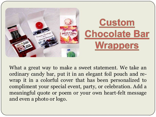 Custom Candy Wrappers Slide 3