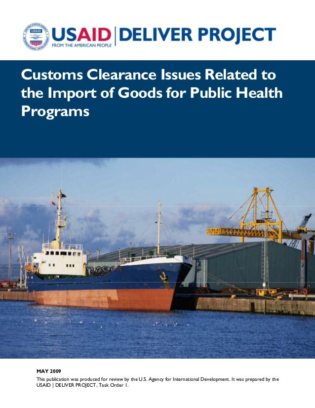customs clearance issues related to the A customs broker acts as an agent for the shipper or receiver by filing entries to customs, and paying the duties, taxes and any other customs clearance related charge.