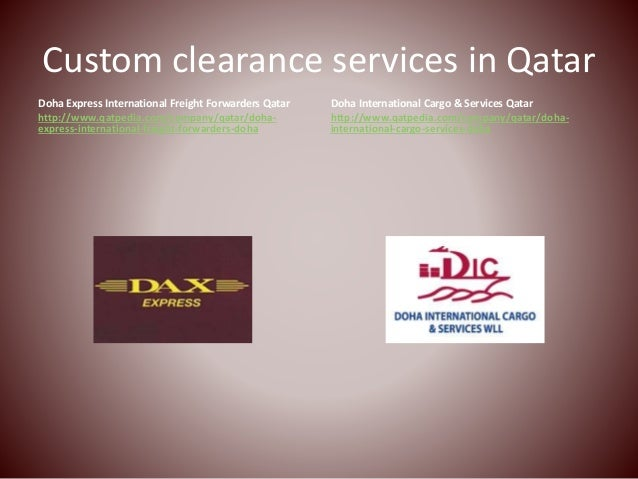 Image result for Customs Clearance in Qatar