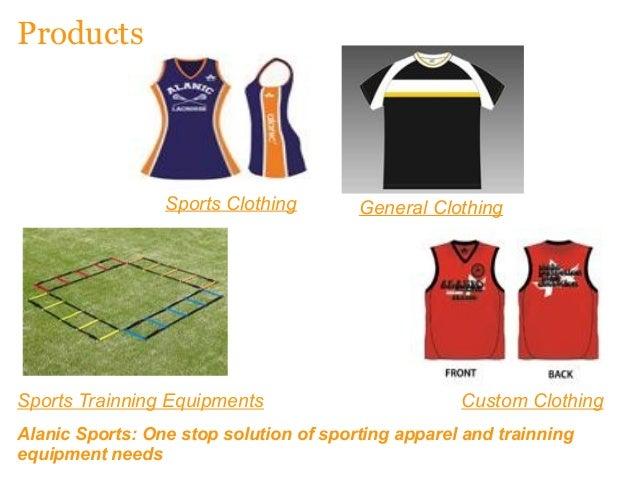 Custom Clothing Manufacturers Alanic Sports