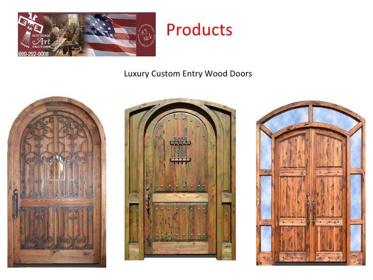 ProductsLuxury Custom Entry Wood Doors ...  sc 1 st  SlideShare & Custom Door Factory u2013 Custom Doors manufacturer Company in USA