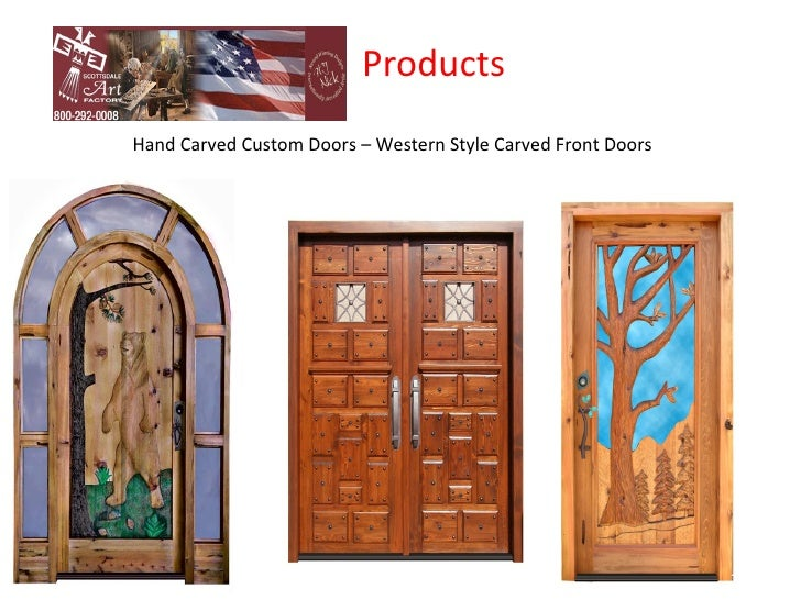 ProductsLuxury Custom Entry Wood Doors; 4.  sc 1 st  SlideShare & Custom Door Factory u2013 Custom Doors manufacturer Company in USA