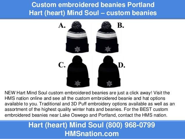 49171fa444bd2 Custom Embroidered Beanies Portland