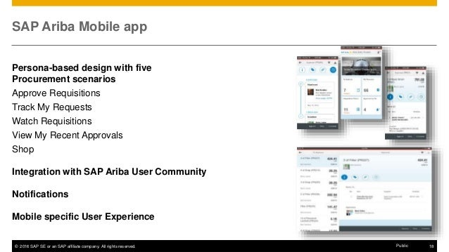 Sap Ariba Mobile Apps For Buyers And Sellers Increase