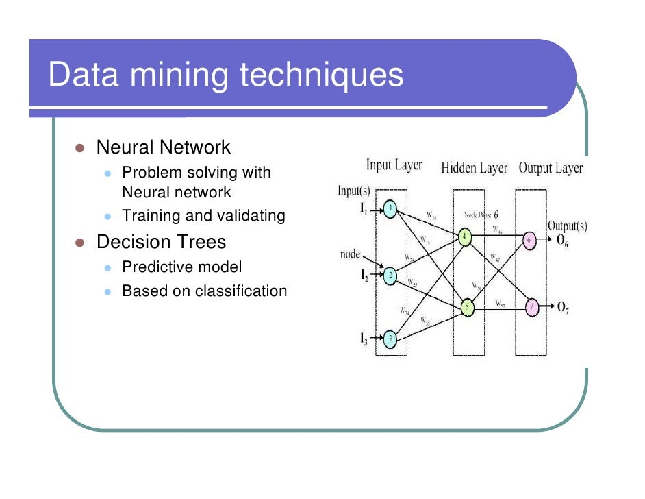 an explanation of the decision tree a standard tool in data mining Data mining with r j48 decision tree in summary, information gain is the mathematical tool that algorithm j48 has used to decide, in each tree node, which variable fits better in terms of target variable prediction.