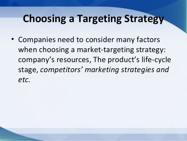 customer driven marketing strategy In a highly competitive business environment, focusing on the needs of your customers can give you an edge over your competition as such, your marketing strategy should be geared toward reaching those who would benefit the most from your product or service a customer-driven marketing strategy includes elements.