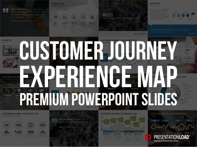 PREMIUM POWERPOINT SLIDES Experience map Customer Journey