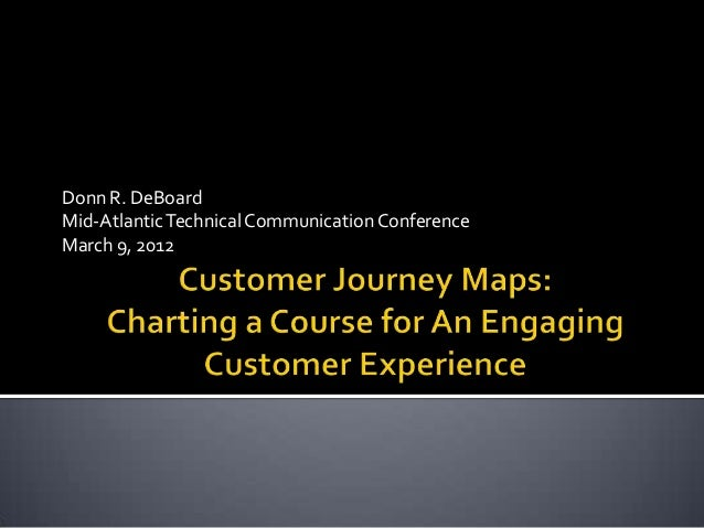 Donn R. DeBoardMid-AtlanticTechnical CommunicationConferenceMarch 9, 2012
