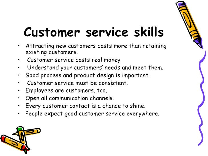 Importance of good Customer service.